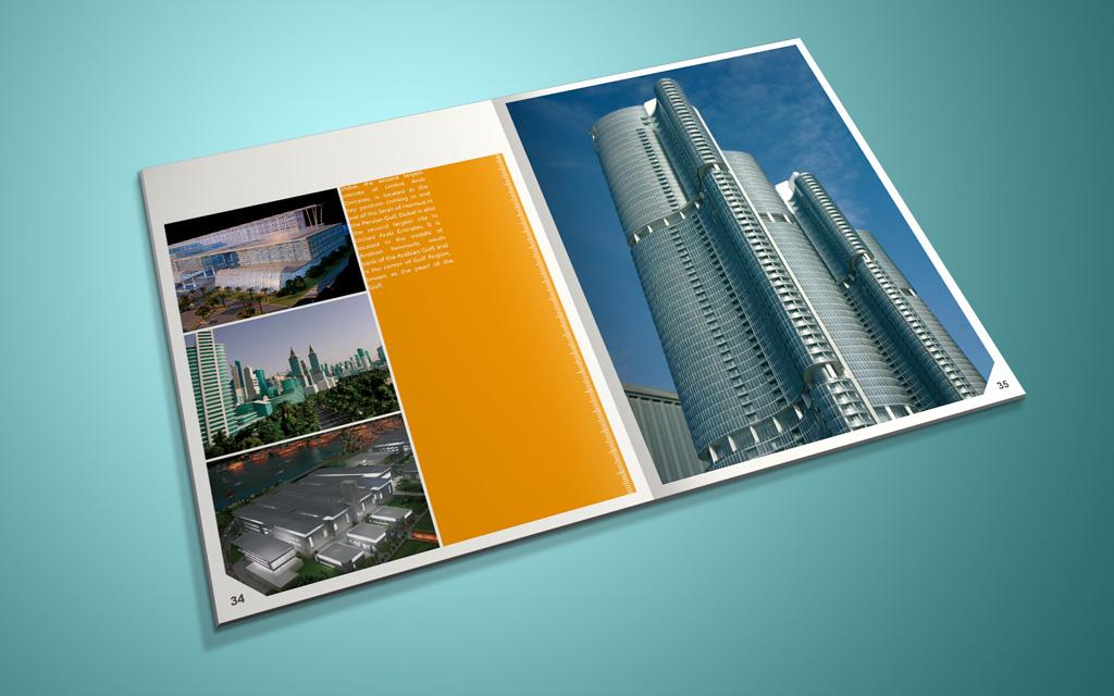 迪拜建筑公司 企业宣传册