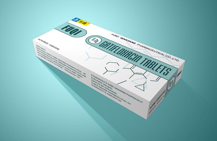 东盛福奇儿童装 药品包装设计